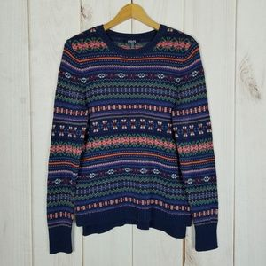 Chaps Ralph Lauren   Nordic Style Rainbow Sweater